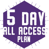5 Day All Access
